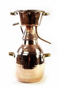 Alquitara Destille, 25 Liter für die Destillation aromatischer Brände
