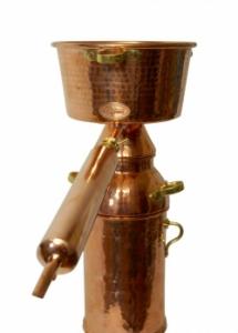 Alquitara 20 Liter +Plus mit Kolonne - für ätherische Öle