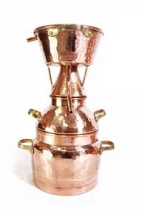 Alquitara Destille, 50 Liter für die Destillation ätherischer Öle und aromatischer Brände