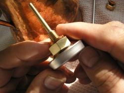 Al-Ambik® Thermometer zum Destillieren montieren