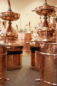 Pot Still Destille mit Hydrodichtung und Zubehören,  50 Liter