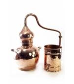 Alembik Destille, 20 Liter, hartverlötet (verschweißt)