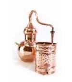Alembik Destille, 10 Liter, hartverlötet (verschweißt)