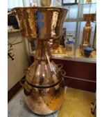 Alquitara Destille, 75 Liter für die Destillation ätherischer Öle und aromatischer Brände