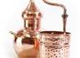 Alembik Destille, 5 Liter, hartverlötet (verschweißt)