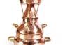 Alquitara Destille, 10 Liter für die Destillation ätherischer Öle und aromatischer Brände