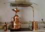 Pot Still Destille mit Hydrodichtung und Zubehören, 10 Liter